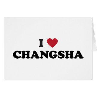 I Heart Changsha China Greeting Card