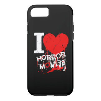 I HEART HORROR MOVIES iPhone 7 CASE