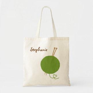 I Heart Knitting Bag