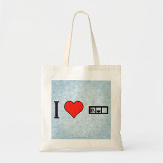 I Heart Livingroom Furniture Budget Tote Bag