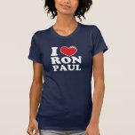 I Heart Ron Paul Shirts