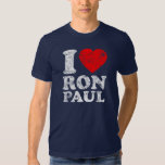 I Heart Ron Paul Tee Shirt