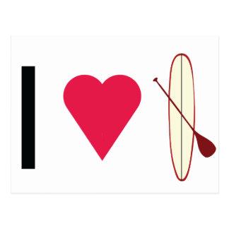 I Heart SUP Postcard