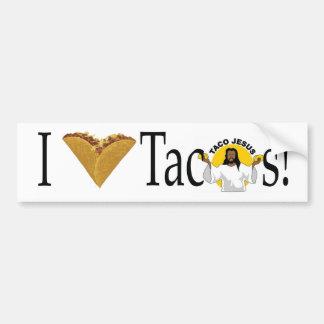 I (heart) Tacos Bumper Sticker
