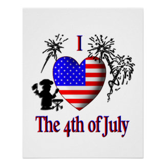 I Heart The Fourth of July