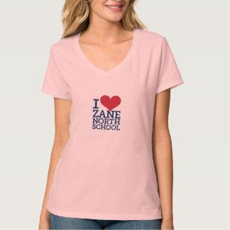 I Heart Zane North Women's V-Neck Tee