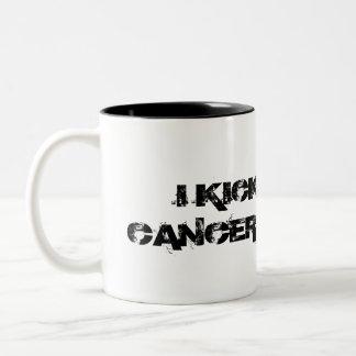I KICKED CANCERS ASS Mug