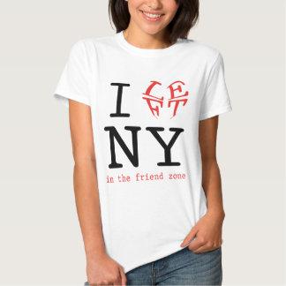 I Left NY in the Friend Zone T Shirt