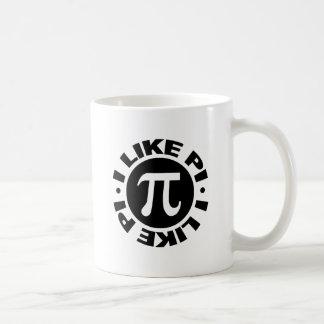 I Like Pi Basic White Mug