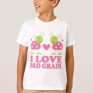 I Love 3rd Grade Ladybug Tees