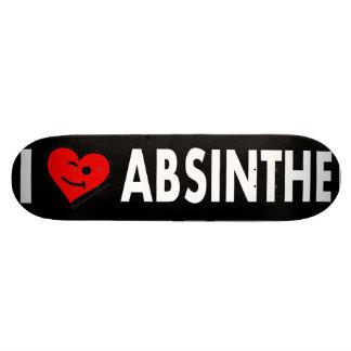 I LOve Absinthe Skateboards