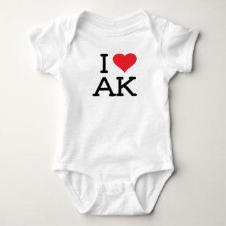 I Love AK - Heart - Onsie T-shirt