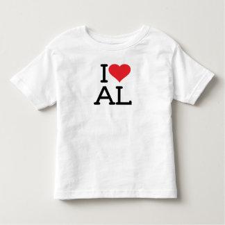 I Love AL - Toddler T Shirt