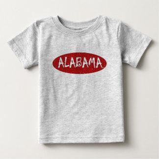 I Love Alabama Infant Tee Shirt By:da'vy