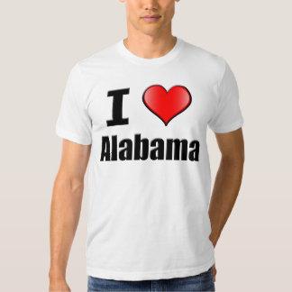 I love Alabama Tshirt - Mens