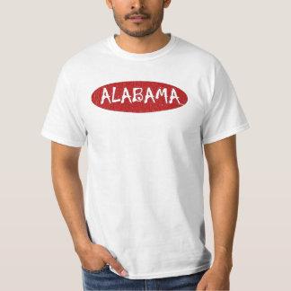 I Love Alabama Valve Tee Shirt By:da'vy