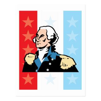 I Love America - George Washington President USA Postcard