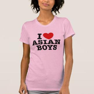 I Love Asian Boys T Shirt