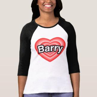 I love Barry. I love you Barry. Heart Shirt