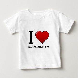 I LOVE BIRMINGHAM,AL - ALABAMA TEE SHIRT