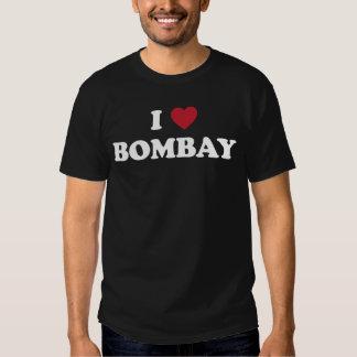 I Love Bombay India T Shirt