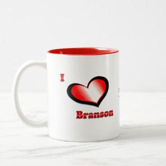 I love Branson Mug - choose color,size,style