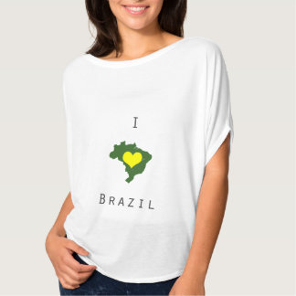 I love Brazil- World Cup Tshirt/Tee Shirt