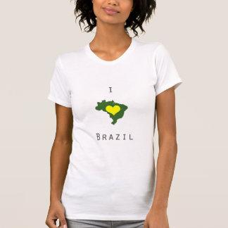 I love Brazil-World Cup Tshirt/Tee Tshirt