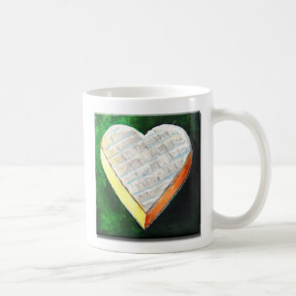I Love Brie Cheese Basic White Mug