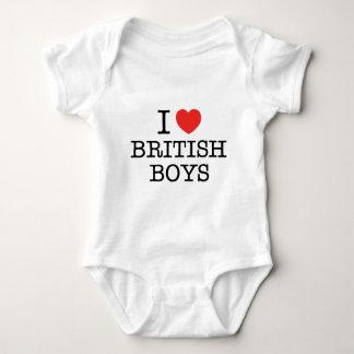 I Love British Boys T-shirts