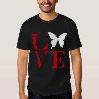 I Love Butterflies - Dark Colored Tee