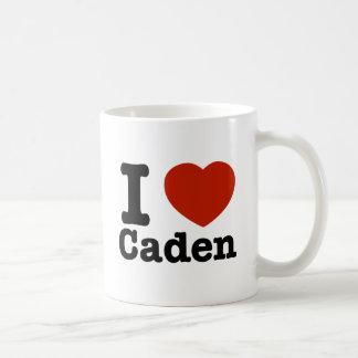 I love Caden Basic White Mug