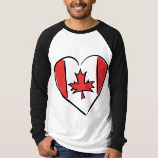 I Love Canada T Shirts