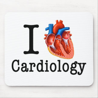 I love Cardiology Mouse Pad