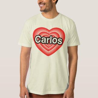 I love Carlos. I love you Carlos. Heart Tees