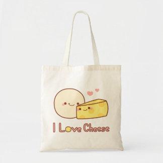 I Love Cheese Tote Budget Tote Bag