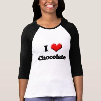 I Love Chocolate T-Shirt, Valentine's Day Retro T Shirts