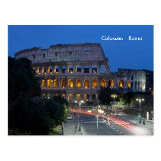 I love Colosseum by night Postcard