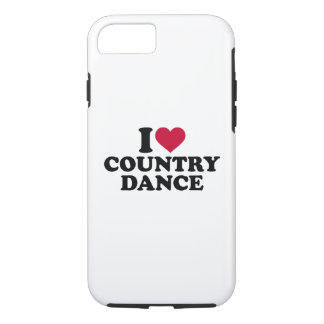 I love country dance iPhone 7 case