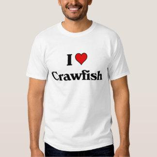 I love Crawfish T-shirts