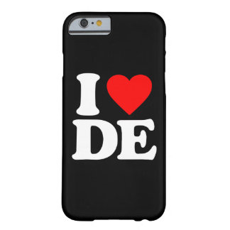 I LOVE DE BARELY THERE iPhone 6 CASE