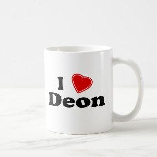 I Love Deon Basic White Mug