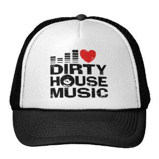 I Love Dirty House Music Cap