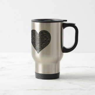 I LOVE DUCT TAPE - DUCT TAPE HEART STAINLESS STEEL TRAVEL MUG