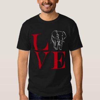 I Love Elephants - Dark Colored Tee