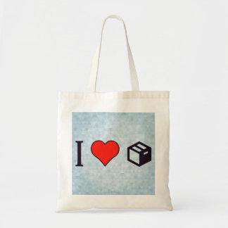 I Love Filing Cabinets Budget Tote Bag