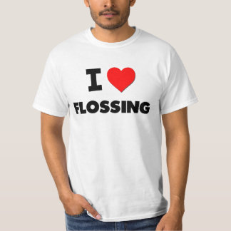 I Love Flossing Tee Shirt