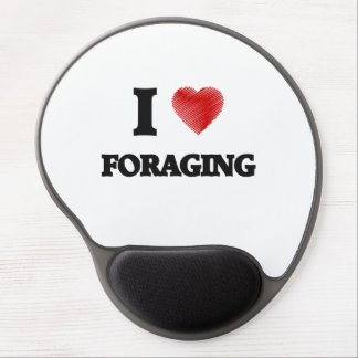 I love Foraging Gel Mouse Pad