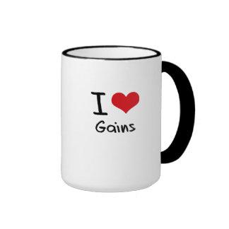 I Love Gains Ringer Mug