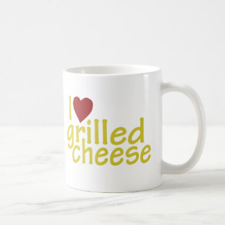I Love Grilled Cheese Basic White Mug